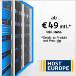 HostEurope Cloud Rootserver