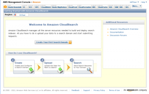 amazon-cloudsearch-aws